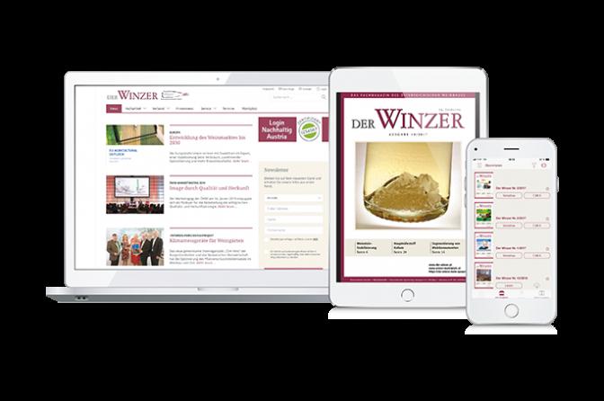 Der Winzer - Gratiszugang DIGITAL zum Kennenlernen